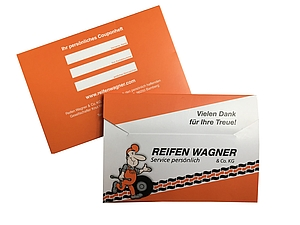 Reifen Wagner Coupon Mappe